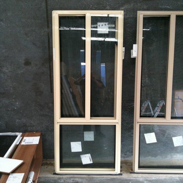 Aluminium Sliding Window 2057h X 610w Primrose Stock