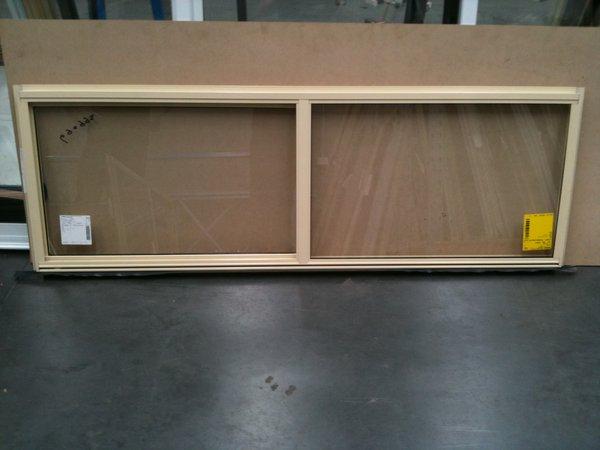 Aluminium Sliding Window 600h X 1810w Primrose Stock