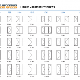 timber casement windows stock windows and doors