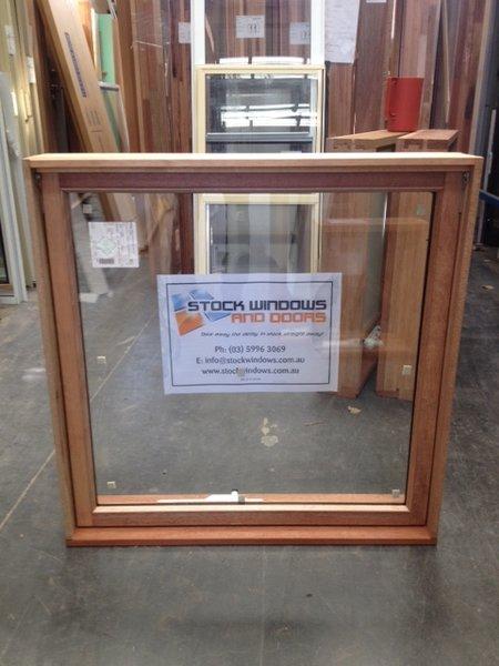 Timber Awning Window 897h X 915w Double Glazed Stock