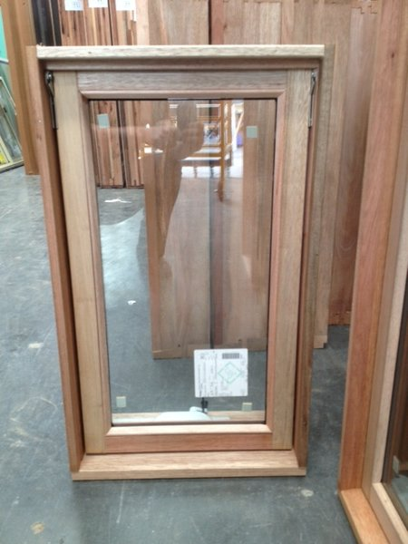 Timber Awning Window 766h X 450w Double Glazed Stock Windows And Doors