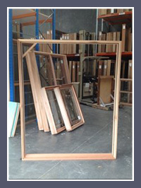 Timber Double Door Frame
