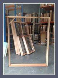 Timber Double Door Frame