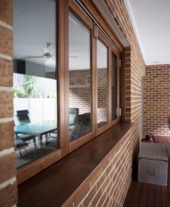 Timber Bi-Fold Windows
