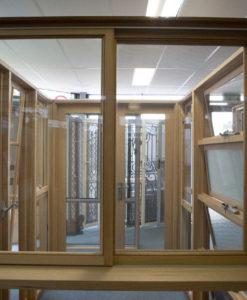 Timber Sliding Windows