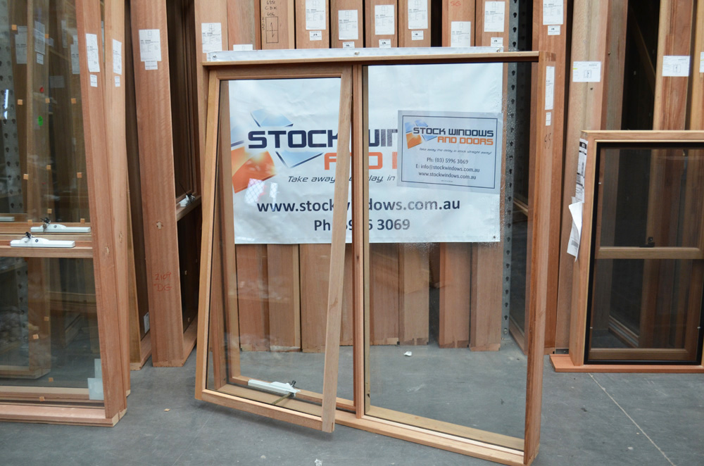 reputable site 4cdec ab797 Timber Awning Window 1497h x 1510w Double Glazed